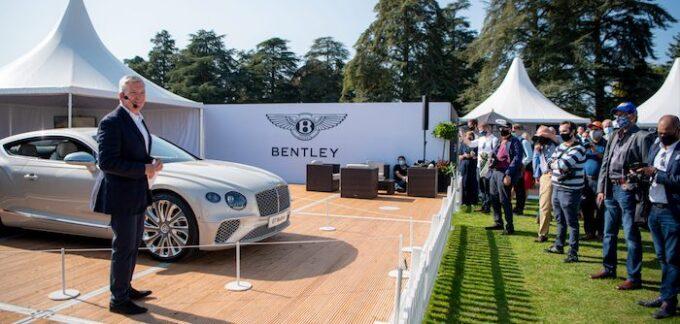 Bentley Display at Salon Privé