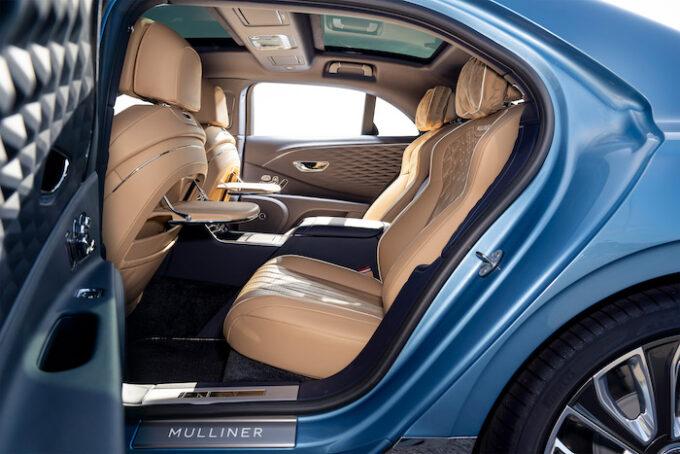Bentley Flying Spur Mulliner - Interior Back Seat