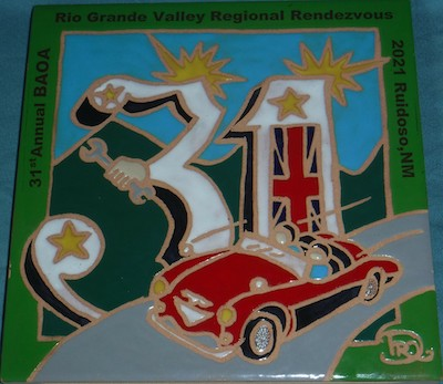 British Automobile Owners Association 31st Annual Rio Grande Valley Regional Rendezvous