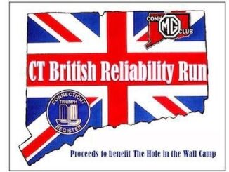 Connecticut British Reliability Run Logo