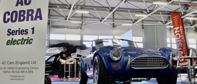First Strike - AC Cobra Series 1 electric stuns crowds at The British Motor Show 1