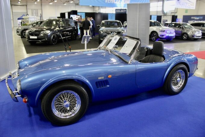 First Strike - AC Cobra Series 1 electric stuns crowds at The British Motor Show - 2