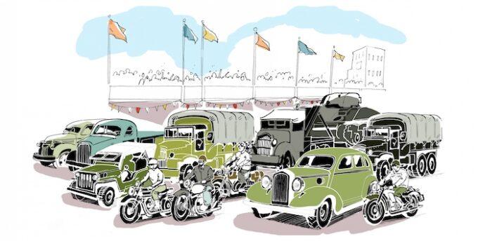 Goodwood Revival 2021 Victory Parade