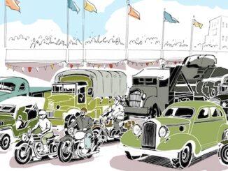 Goodwood Revival 2021 Victory Parade Header