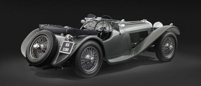 Jaguar 1938 SS - Salon Privé From Pioneers to Performance Greats 2021