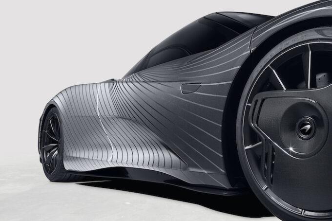 McLaren Albert 11 Detail of side