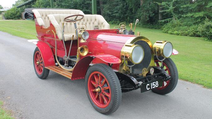 Mr Toad's car at Beaulieu - 34 front shot