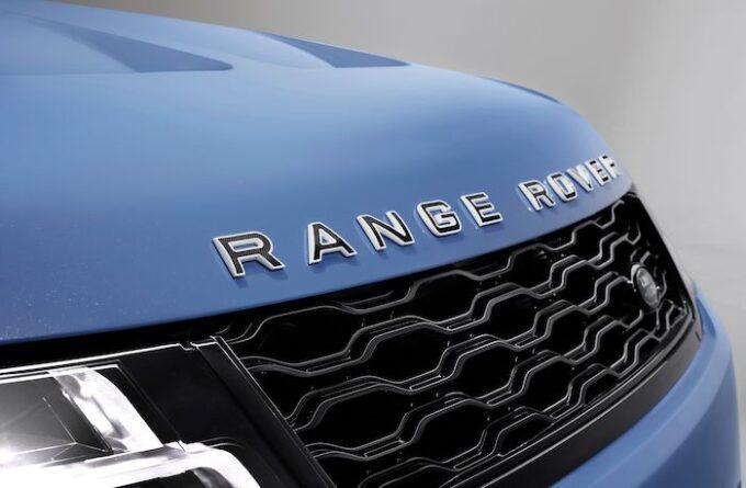 Range Rover Sport SVR Ultimate Edition - Nose and logo detail