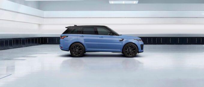 Range Rover Sport SVR Ultimate Edition - Side View