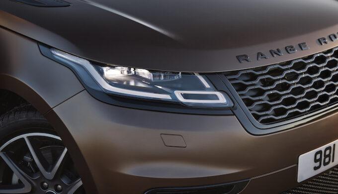 Ranger Rover Velar for 2022 Bespoke - Nose detail