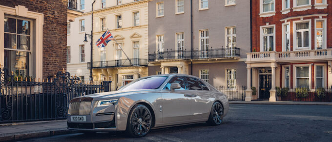 Rolls-Royce Marks Founder's Birthday with London Pilgrimage - Ghost