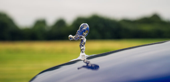 Rolls-Royce Motor Cars celebrates Bespoke Black Badge luxury at Salon Privé - Spirit of Ecstasy Emblem