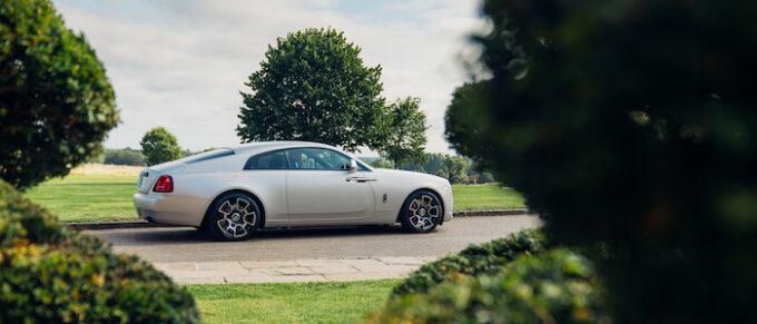 Rolls-Royce Motor Cars celebrates Bespoke Black Badge luxury at Salon Privé