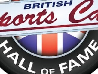 BSCHoF British Sports Car Hall of Fame Logo Header