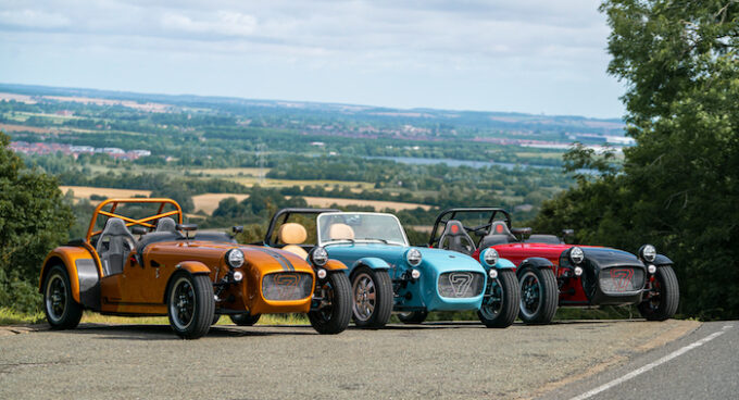 Caterham launches new Seven 170 the lightest production Seven ever built