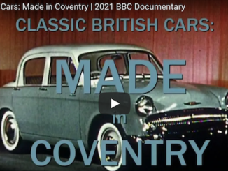 Classic British Cars Made in Coventry