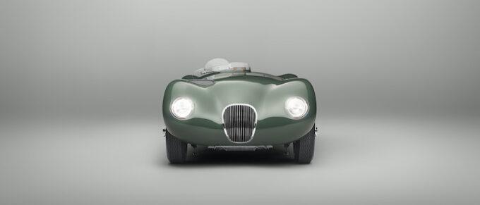 Jaguar C-type continuation Dead Front Lights