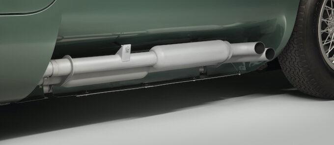 Jaguar C-type continuation Exhaust