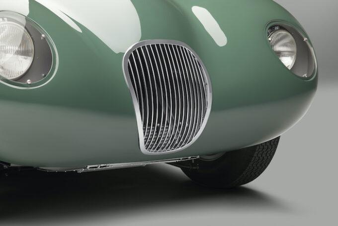 Jaguar C-type continuation Grille 2