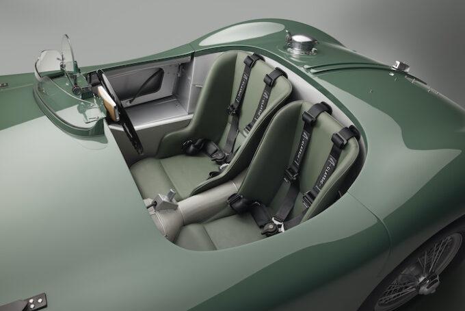 Jaguar C-type continuation Interior
