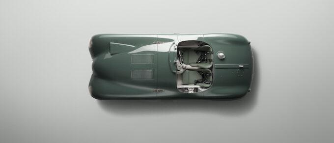 Jaguar C-type continuation Overhead Lights Off