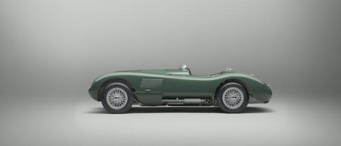 Jaguar C-type continuation Profile Lights Off
