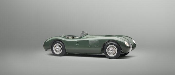 Jaguar C -ype continuation Right Side