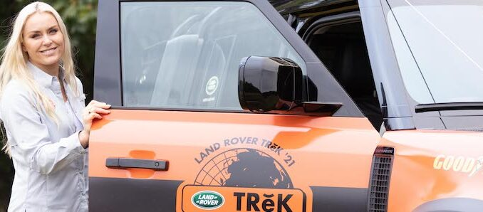 Lindsey Vonn Kicks Off Land Rover TReK 2021 Off Road Competition 04