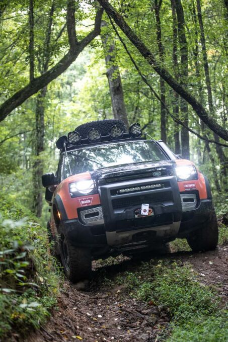 Land Rover TReK 2021 Off Road Competition 16