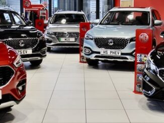 MG Motor UK beats 2020 sales Header
