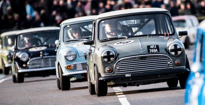 Mighty Minis at Goodwood John Whitmore Trophy photo by Jayson Fong 2