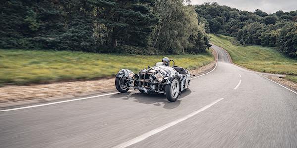 New 3-Wheeled Morgan in Testing