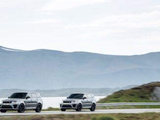 New behind the scenes footage shows Range Rover Sport SVR preparing to make an impact in new James Bond film RRS SVR Bond NTTD ND 140921 02 EONCOPYRIGHT