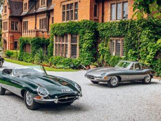 Original Geneva Motor Show Jaguar E Types Reunited at home of William Lyons Header
