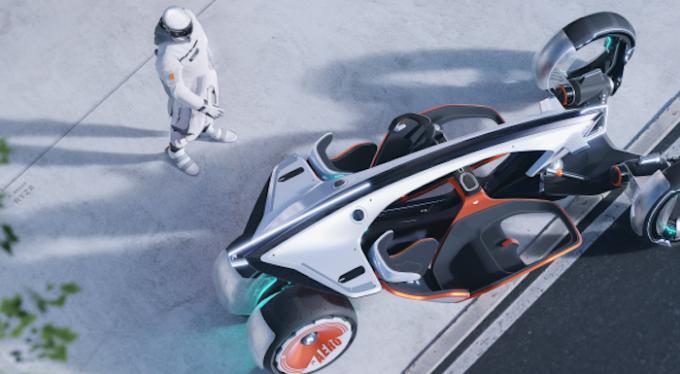 SAIC Design reveals visionary R RYZR Concept