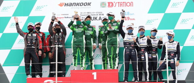 STZ winners - Aston Martin Vantage Clinches 1st Ever Title in Japan