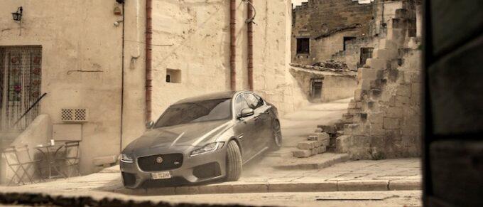 Jaguar XF Makes Its 007 Debut in No Time to Die