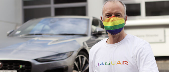Mark Trowbridge JLR Castle Bromwich National Coming Out Day
