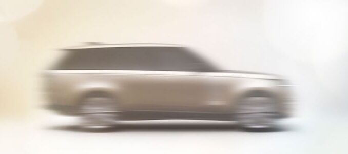 New Ranger Rover First Glimpse