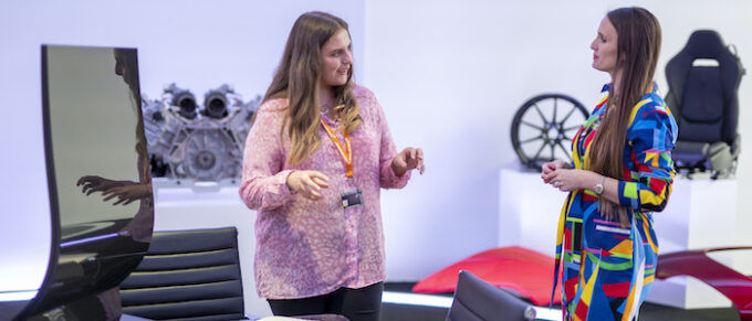 Plan International youth activist Maisy becomes McLaren Automotive CEO for the day to mark International Day of the Girl 4