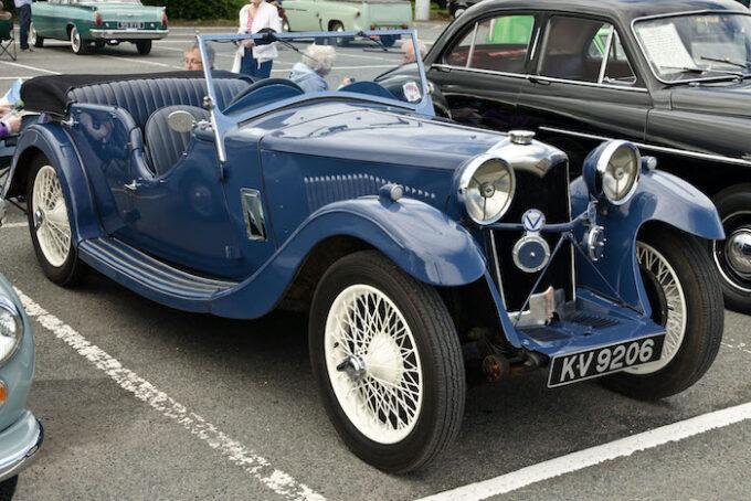 Riley Nine Lynx 4 seat Tourer from 1934